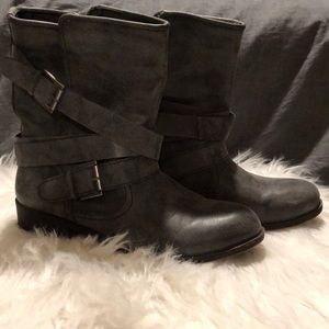 Madden girl flat ankle bootie